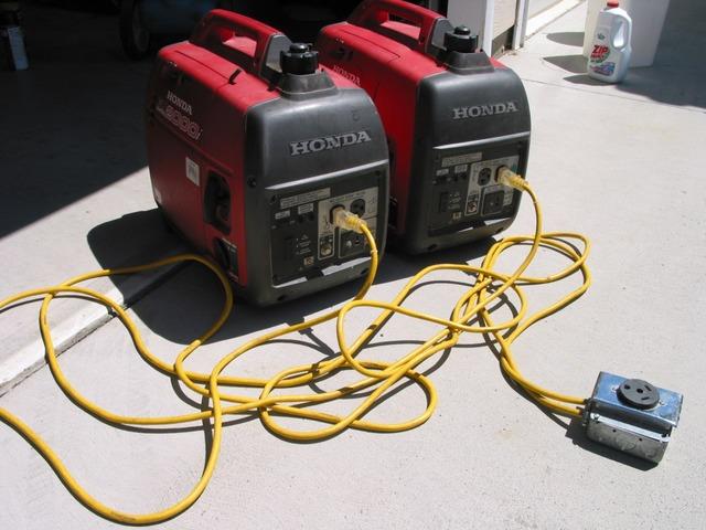 Generator 900 2 In Parallel