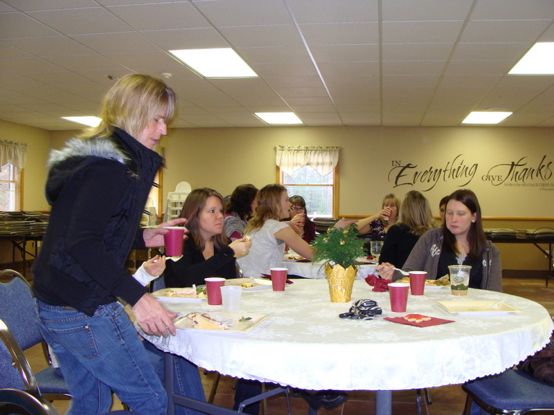 Pictures from Ladies Christmas Brunch