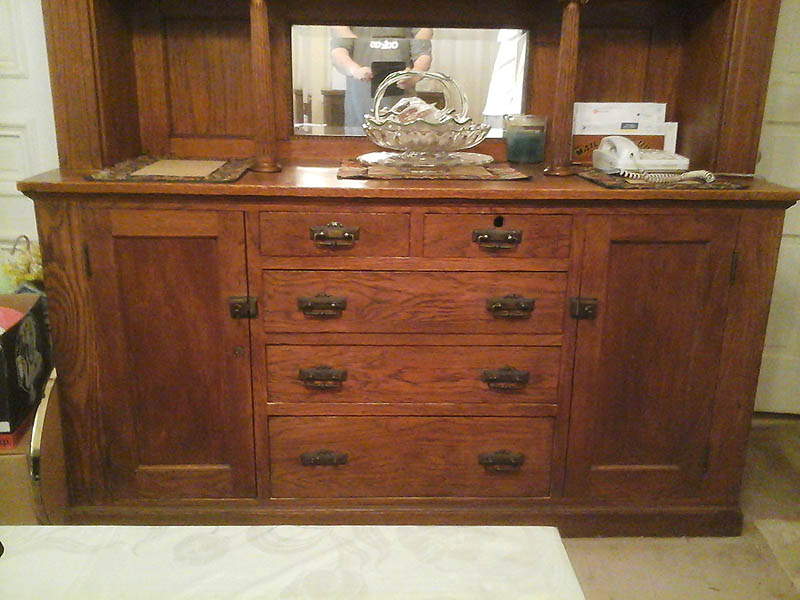 Antique hutch? China cabinet? Buffet? | The Fedora Lounge
