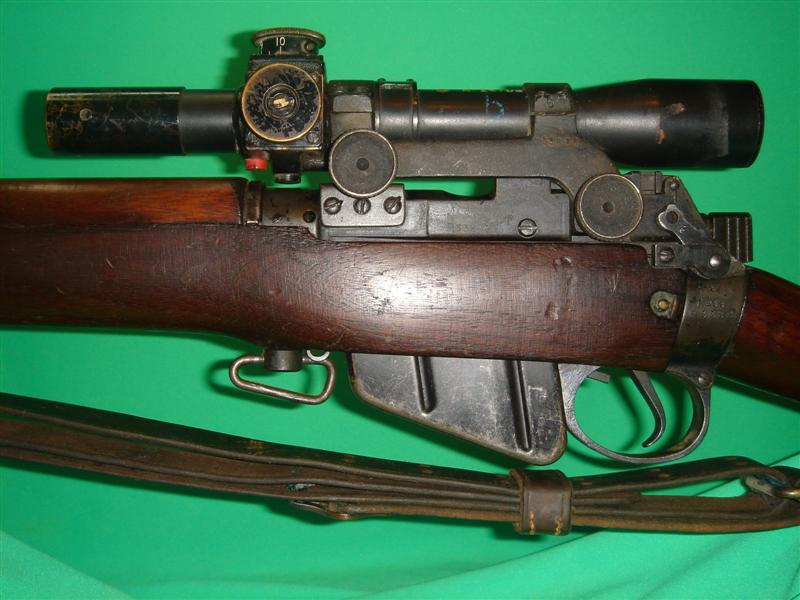 Milsurps Knowledge Library - 1944 Enfield No 4 Mk1(T) Sniper