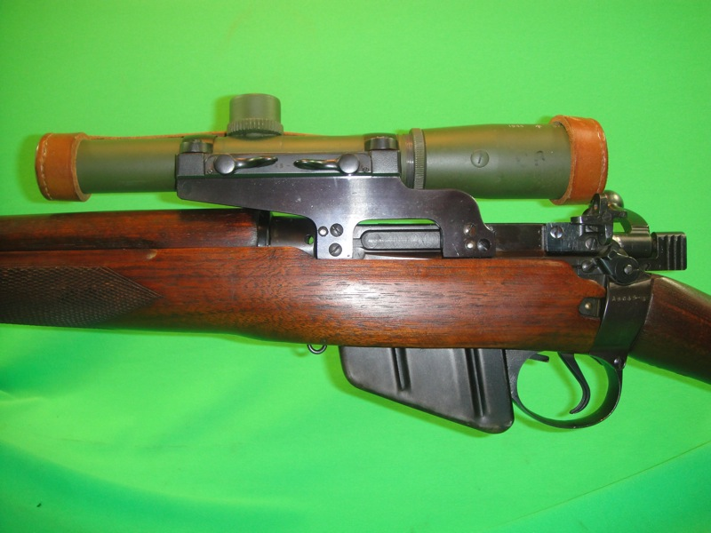 44 enfield no 4 mk1 experimental long branch scout sniper rifle