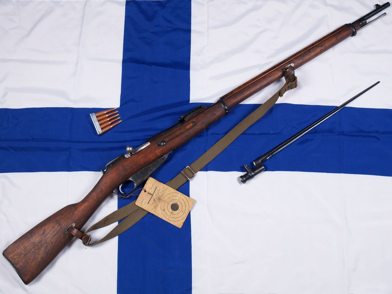 Milsurps Knowledge Library 1942 M91 Finnish Mosin Nagant Mfg By Parts Diagram Vkt Using A B Barrel