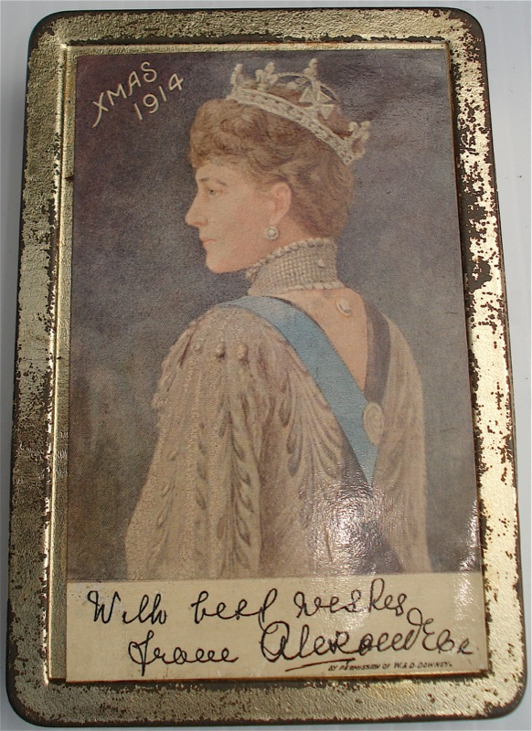princess mary 1914 christmas tin value