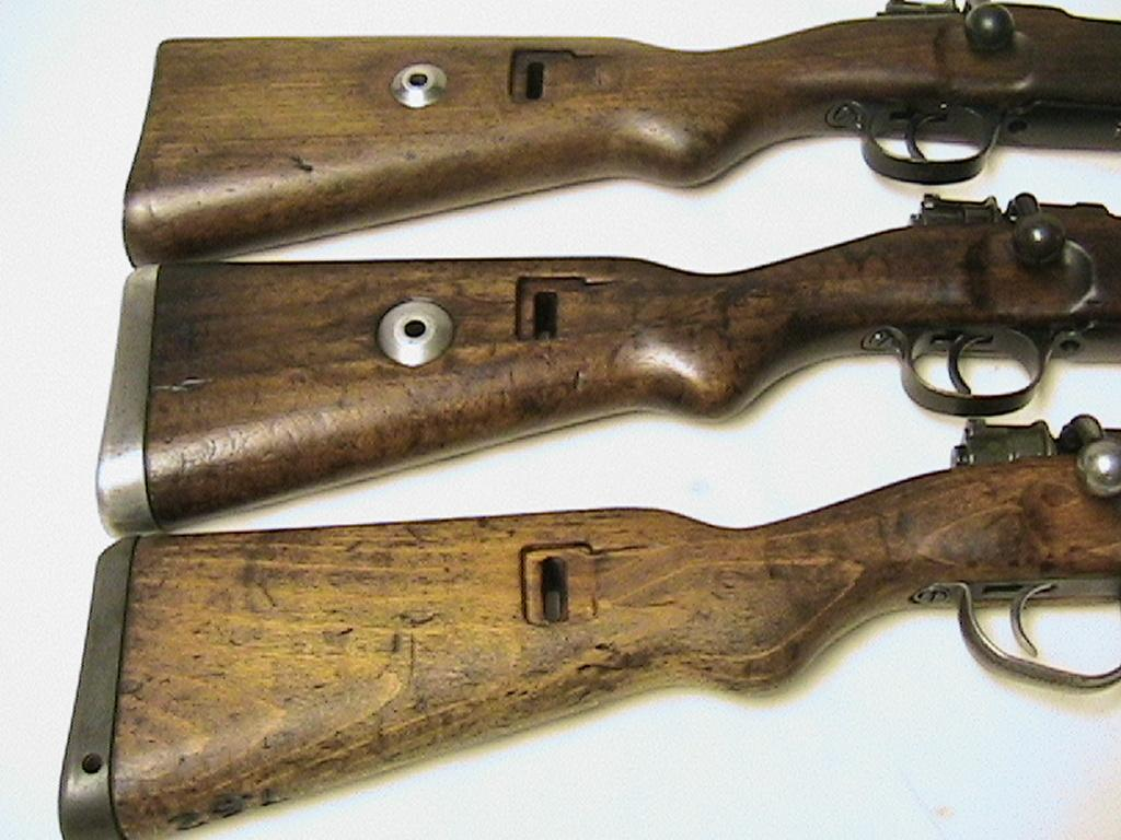 Milsurps Knowledge Library German K98 Stocks And Wood Types