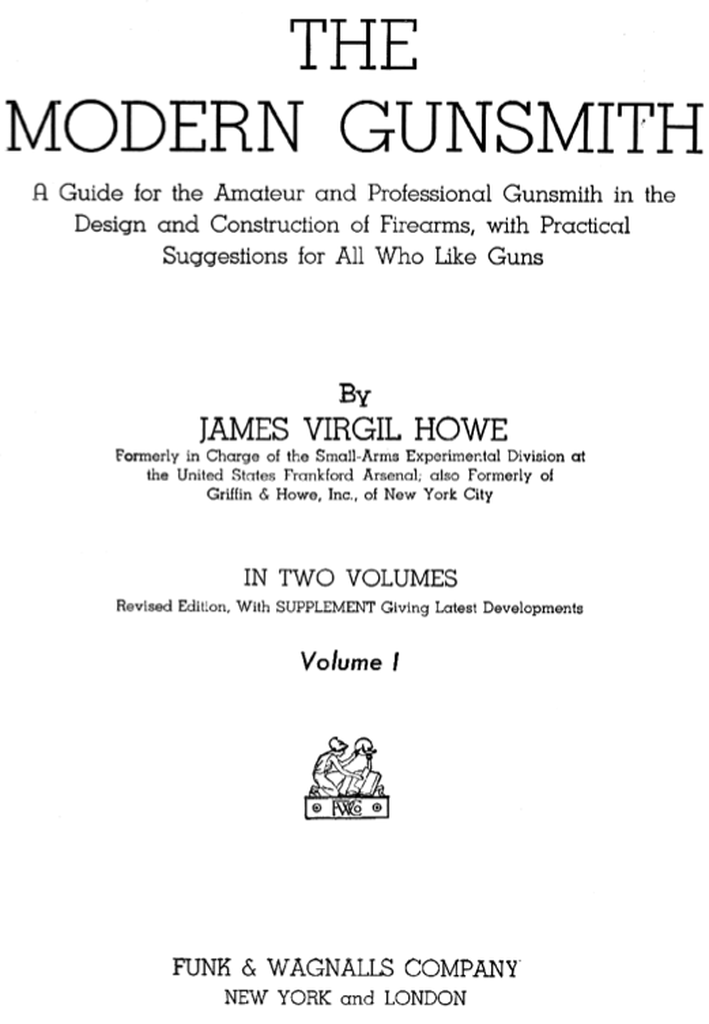 Milsurps Knowledge Library - 1941 The Modern Gunsmith (by James