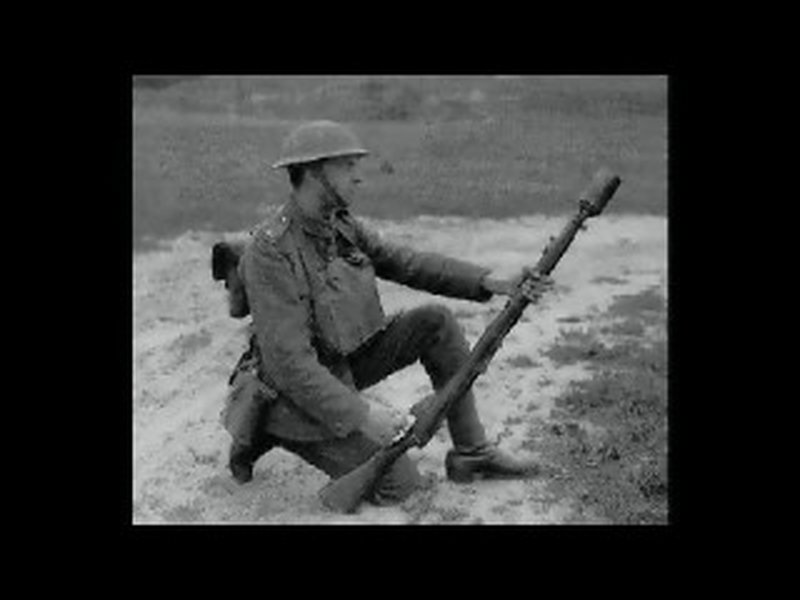 Dog Tennis Ball Launcher >> Milsurps Knowledge Library - WW1 Enfield Wire Wrapped Grenade Rifles and Dischargers