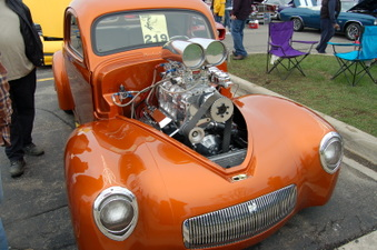 34th Annual Bearing Burners Car show