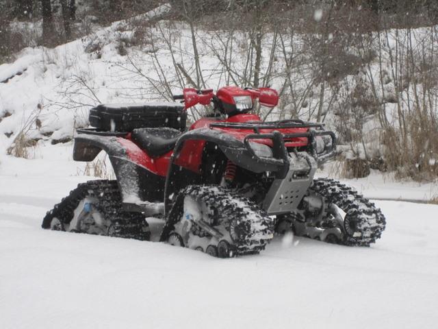 Honda Rancher 420 >> Snowmobile or atv tracks ??? - Page 3 - Honda Foreman ...