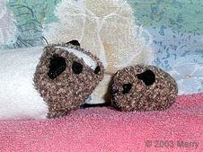 Fabric Guinea Pigs by Merry