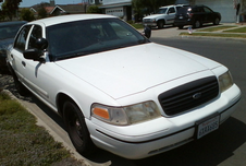White Crown Vic