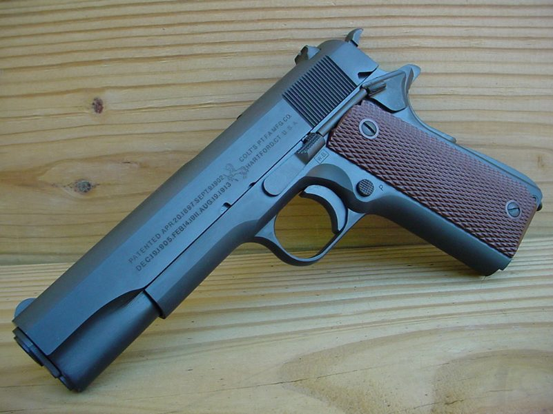 how to put a silencer on your m1911a1