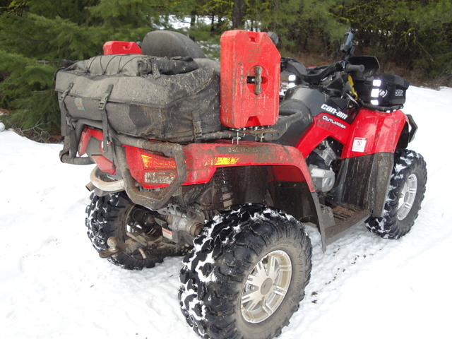 Gas Container Holder Can Am Atv Forum