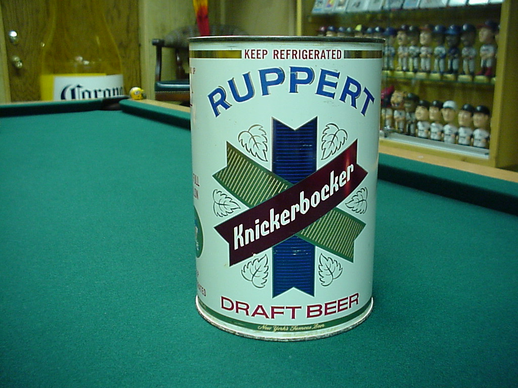 Ruppert Knickerbocker Gallon Beer Can
