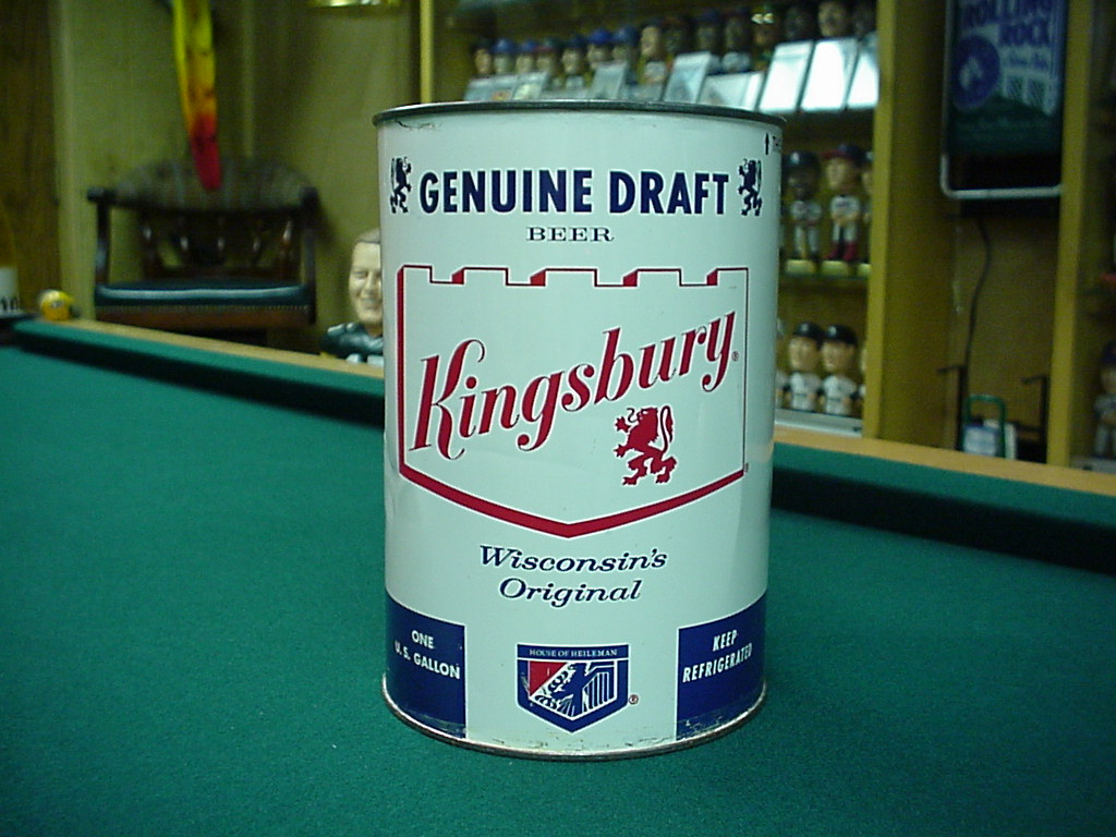Kingsbury Gallon Beer Can