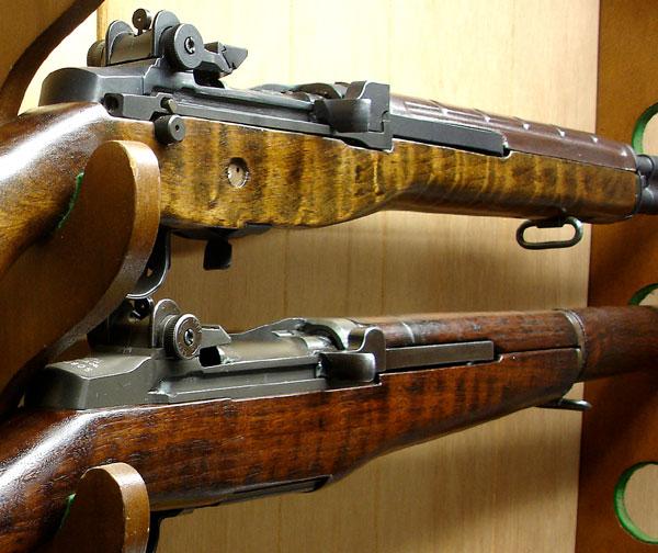 Refinishing Freds M14 Stock Long Island Gun Club