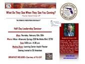"CFFCA Leadership Seminar ""Perception"""