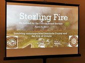 "CFFCA Meeting/Program ""Sterling Fire AA"""