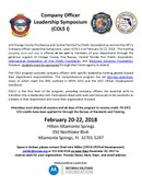 Company Officer Leadership Symposium