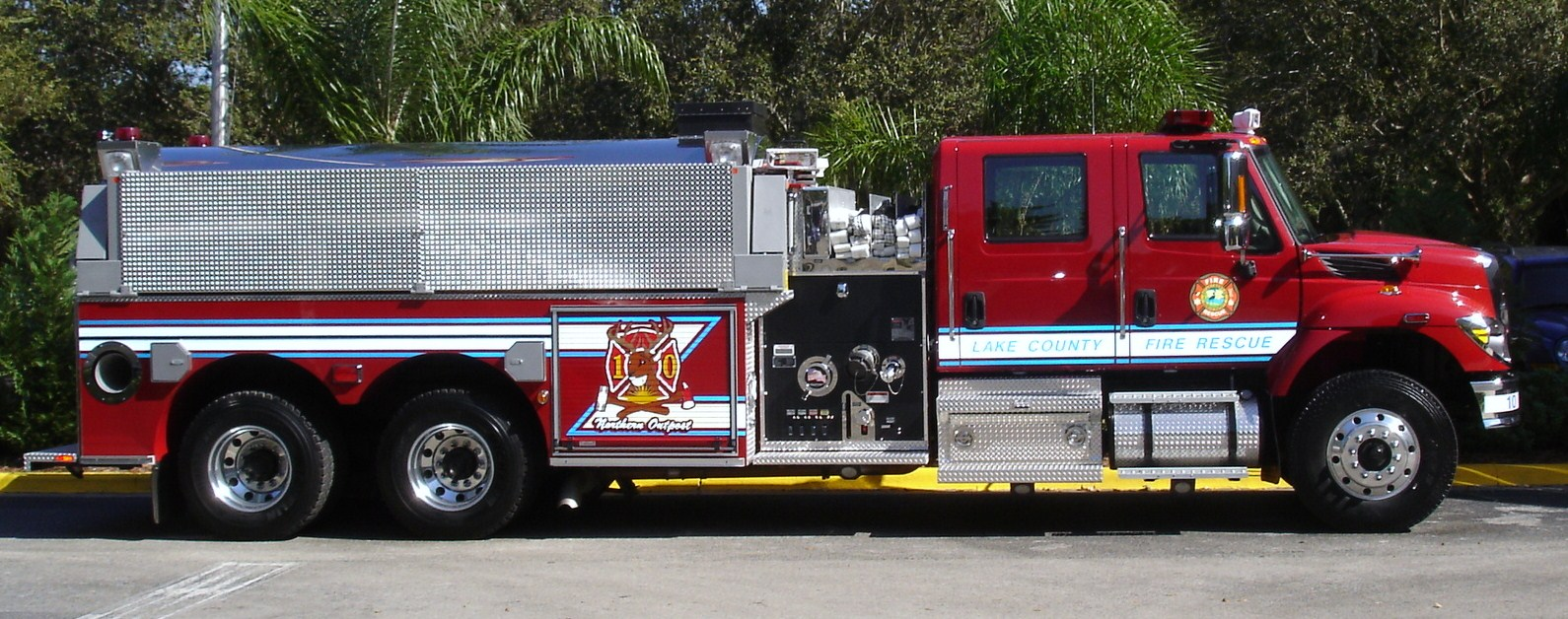 Fire Department Equipment Displays
