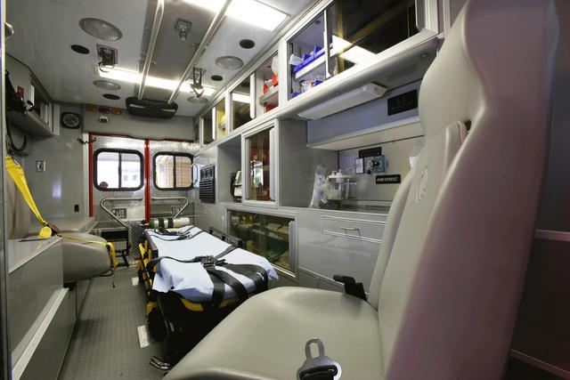 Fire Department Equipment Displays