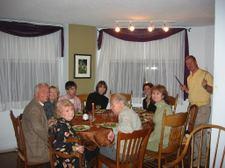 Thanksgiving Dinner at Diane's
