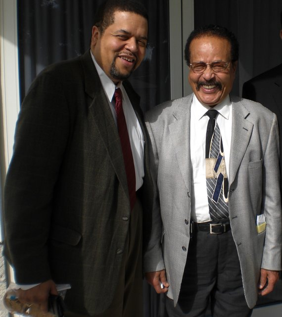 Dr. Alfred G. Davis Jr. (left) and his father Alfred G. Davis Sr. (right)