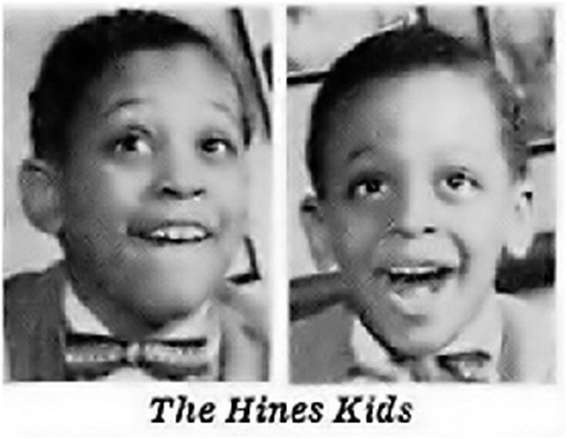 Maurice (left) & Gregory (right) Hines