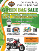 Green Bag Dealer Event