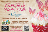 LOH Garage/Bake Sale for Hospice