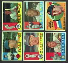 1960 Topps Set