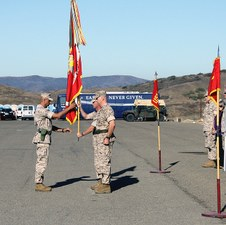 1/1 MARINES CHANGE OF COMMAND - 2009
