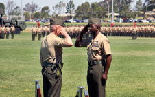 1ST MARINE DIVISION - CHANGE OF COMMAND