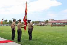 1ST LEB - CHANGE OF COMMAND CEREMONY
