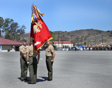 3/5 MARINES CHANGE OF COMMAND