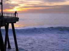 BEACH & SUNSETS - HUNTINGTON BEACH, CA