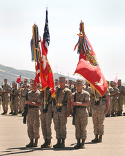CHANGE OF COMMAND - 5TH MARINES - 2011