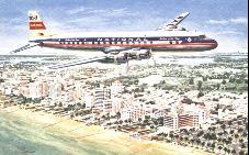 Douglas DC-7 (N - S)