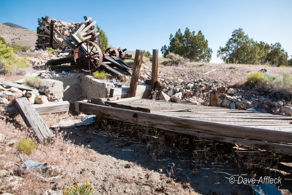 Trout Creek placer mining ruins