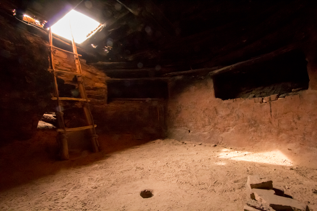 Interior of Perfect Kiva
