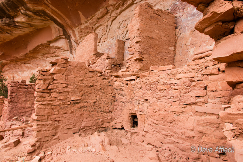 Anasazi ruins in Grand Gulch