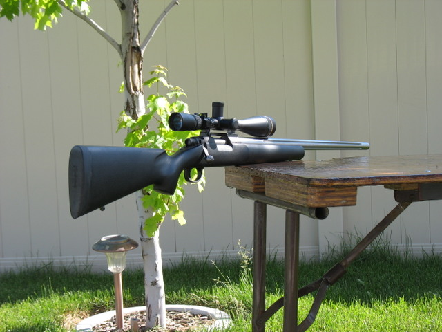 .20 Dasher Mongrel fully assembled and ready to shoot