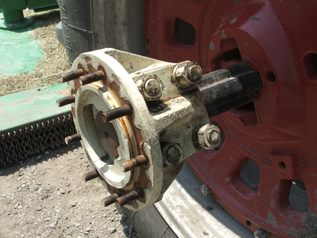 Hub Axle Duals Tractor : Re dual wheel problem agriculture community