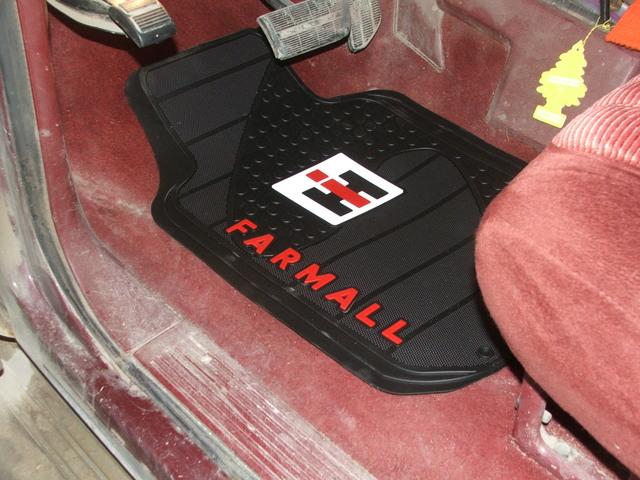 Farmall Door Mat : International harvester floor mats flooring ideas and