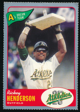Rickey Henderson Collection