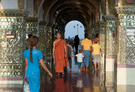 Myanmar - Mandalay Hill