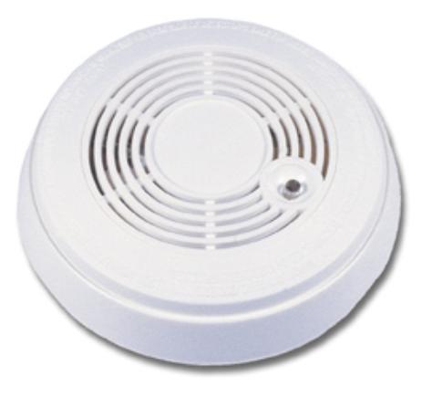 smoke detector wired color hidden video home security spy camera cctv nanny cam ebay. Black Bedroom Furniture Sets. Home Design Ideas