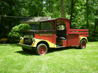 Homebuild truck (Lil Putt-Putt) Is Sold