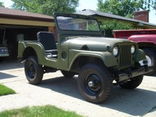 1953 M38A1 USMC Willy's Jeep