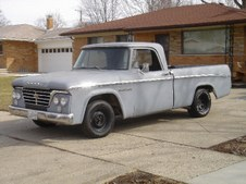1962 D100 Dodge Sweptline