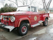 1967 W300 Mars Vol. Fire Co. Truck